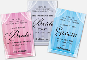 Mattson Wedding Toast Books Special
